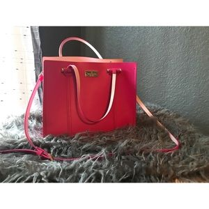 Kate Spade Small Elodie Arbour Hill Leather Tote
